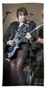 Bon Jovi Guitarist Richie Samboro Bath Towel