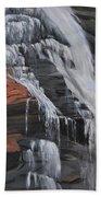Bone Creek Falls Bath Towel