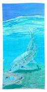 Bonefish Bath Towel