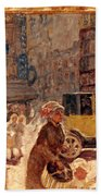 Bonnard: Place Clichy Bath Towel