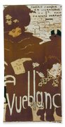 Bonnard Revue 1894 Bath Towel