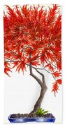 Bonsai Tree - Inaba Shidare Bath Towel