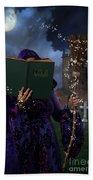 Book Of Magic Spells Bath Towel