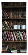 Book Shelf Bath Towel