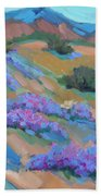 Borrego Springs Verbena Bath Towel