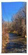 Bosque De Rio De Taos Bath Towel