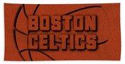 Boston Celtics Leather Art Bath Towel