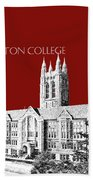 Boston College - Maroon Bath Towel