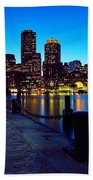 Boston Harbor Walk Bath Towel