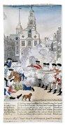 Boston Massacre, 1770 Bath Towel