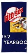 Boston Red Sox 1952 Yearbook Bath Towel