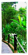 Botanic Gardens Trail Bath Towel