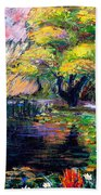 Botanical Garden In Lund Sweden Bath Towel