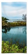 Botany Bay Marshland Bath Towel