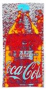 Bottle Of Coca-cola Bath Towel
