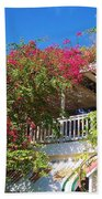 Bougainvillea Villa Bath Towel