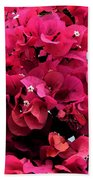 Bougainvillia Bath Towel