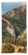 Boulder Colorado Rocky Mountain Foothills Bath Towel