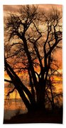 Boulder  County Sunset Bath Towel
