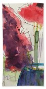 Bouquet Abstract 1 Bath Towel