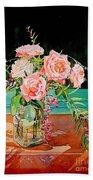 Bouquet De Roses - Marrakech Bath Towel