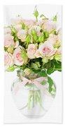 Garden Roses  Bath Towel