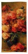 Bouquet Of Roses 1900 Bath Towel