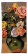 Bouquet Of Roses 2 Bath Towel