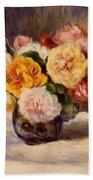 Bouquet Of Roses Bath Towel