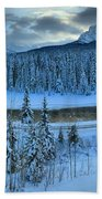 Bow Valley River Giant Panorama Bath Towel