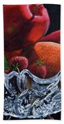 Bowl Of Fruit Bath Towel