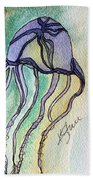 Box Jellyfish Hand Towel