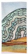 Brain Coral Hand Towel