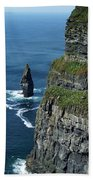 Brananmore Cliffs Of Moher Ireland Bath Towel