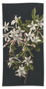 Branch Of A Flowering Azalea, M. De Gijselaar, 1831 Bath Towel