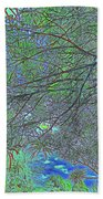 Branches And Sky Bath Towel