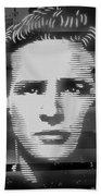 Brando Odyssey Black And White Hand Towel