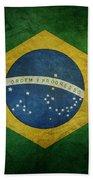 Brazil Flag Bath Towel