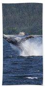Breaching Whale. Bath Towel