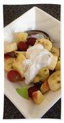 Fruit Salad For Breakfast  Bath Towel