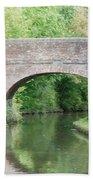 Brick Canal Bridge  Bath Towel