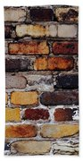 Brick Wall Hand Towel by Tim Good