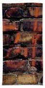 Bricks And Graffiti Bath Towel by Tim Good
