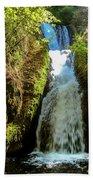 Bridal Veil Falls, Oregon Bath Towel
