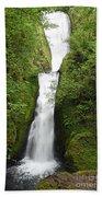 Bridal Veil Falls - Oregon Bath Towel