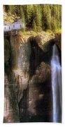 Bridal Veil Falls Power Plant - Telluride - Colorado Bath Towel