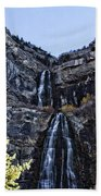 Bridal Veil Falls Provo Utah Bath Towel
