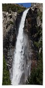 Bridalveil Fall Yosemite Valley Bath Towel