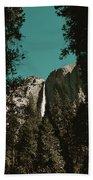 Bridalveil Falls Bath Towel