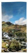 Bridge At Snowdonia Bath Towel